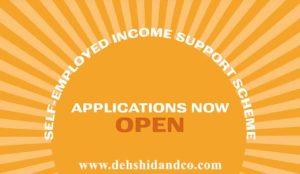 second Self-Employment Income Support Scheme grant